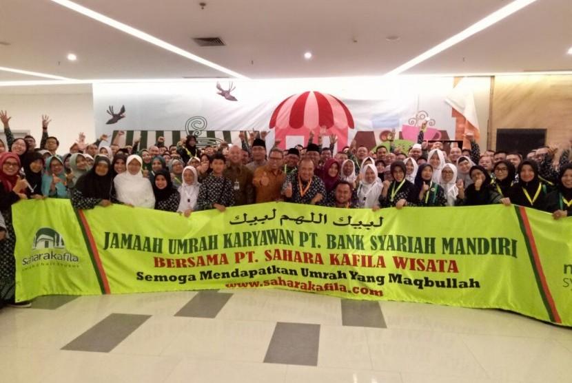 Umrah bersama Bank Syariah Mandiri.