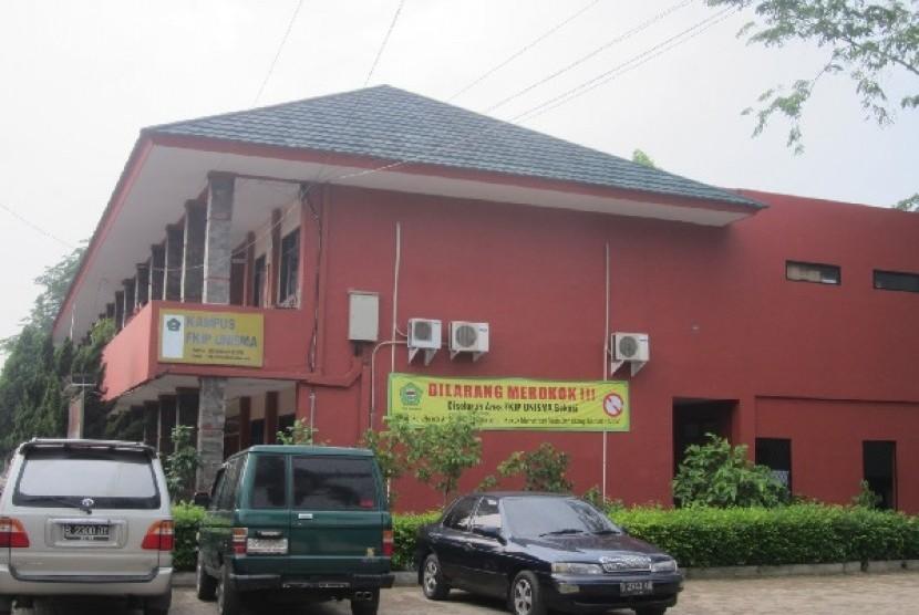 Unisma Bekasi. Pemerintah Kota Bekasi berencana mengakuisisi dan menjadikan Unisma sebagai universitas negeri.