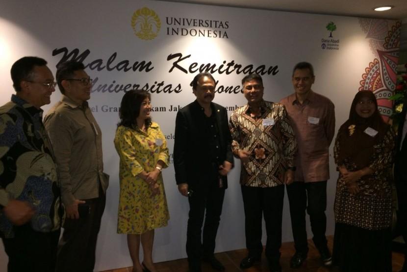 UI Gelar Malam Kemitraan Universitas Indonesia