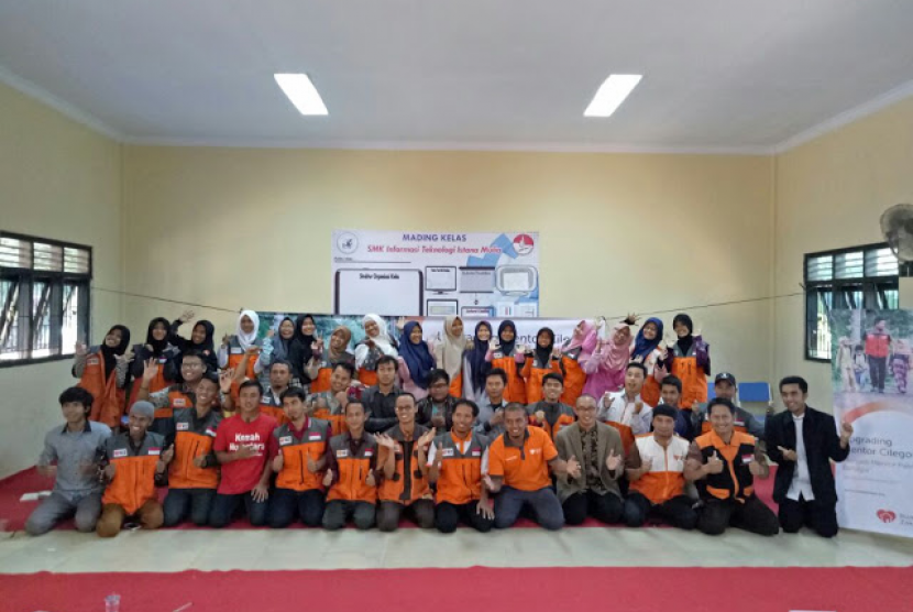 Korwil Mentor Anak Juara Gelar Upgrading