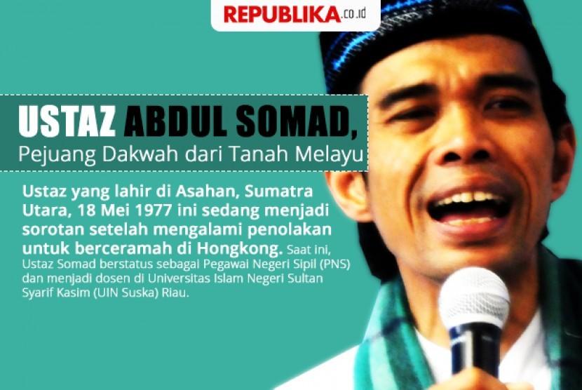Ustaz Abdul Somad, Pejuang Dakwah dari Tanah Melayu
