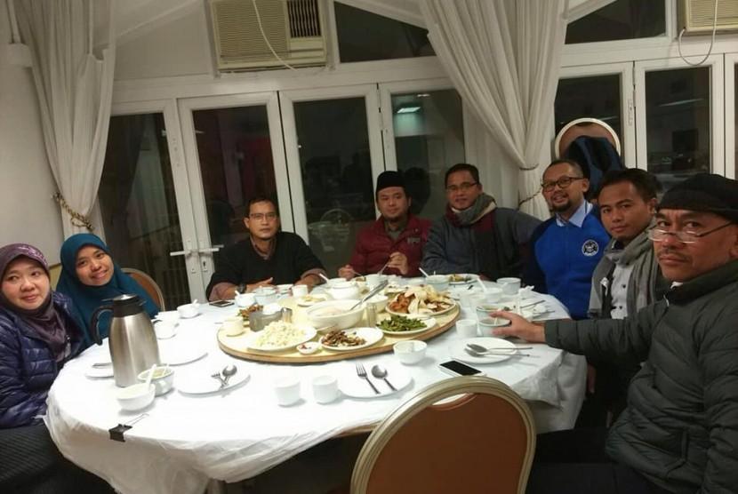 Ustaz Muhammad Amrullah saat berdakwah di Macau.