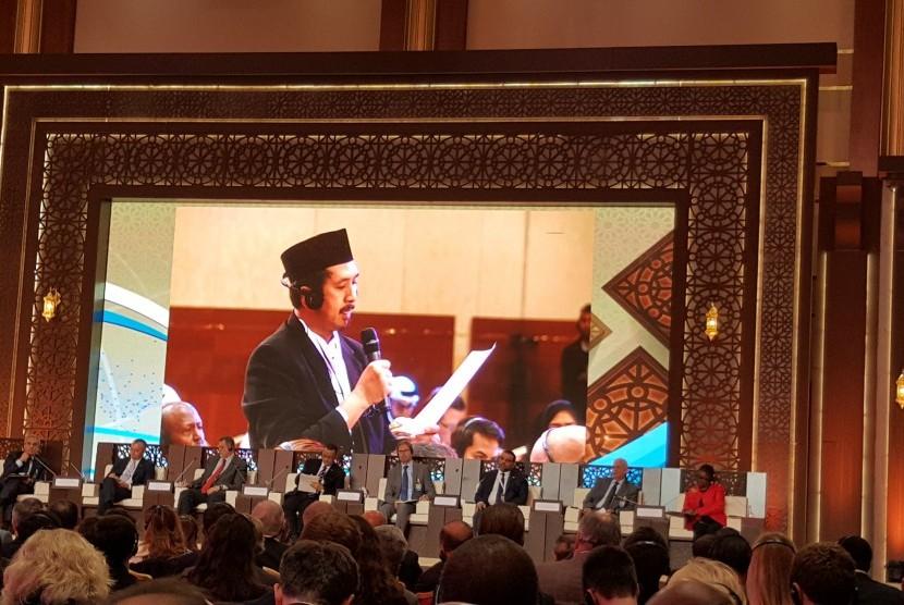 Di Forum Doha, Ustaz Zaitun Lantang Kritisi Peran PBB