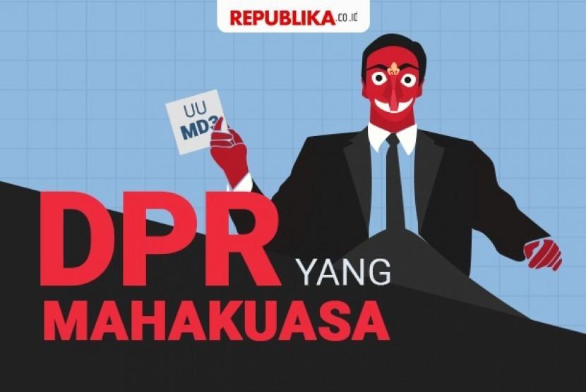 UU MD3 akan dicurigai akan membuat DPR semakin kuat bahkan kebal hukum