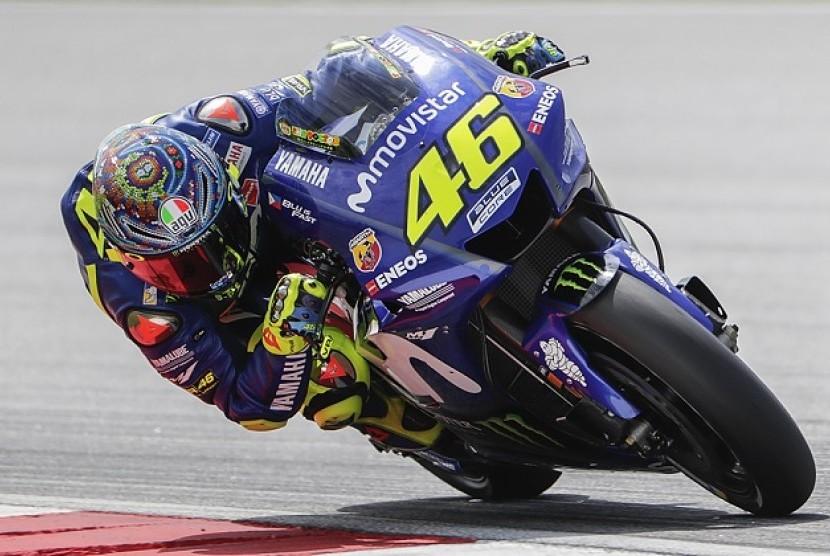 Valentino Rossi Merasa tak Nyaman dengan Sirkuit Austin