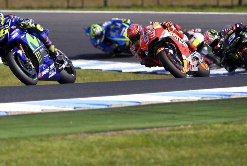 Zarco dan Iannone Kuras Waktu Rossi di GP Australia