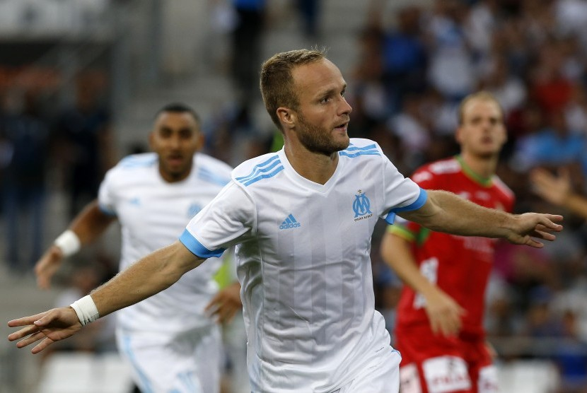 Valere Germain Antar Marseille Kalahkan Rennes