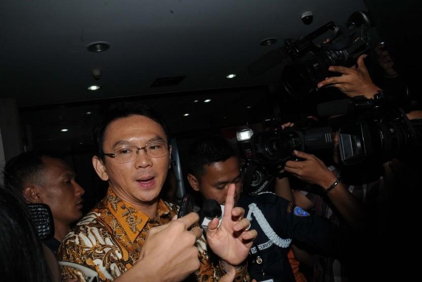 Wakil Gubernur DKI Jakarta Basuki Tjahaja Purnama (Ahok)