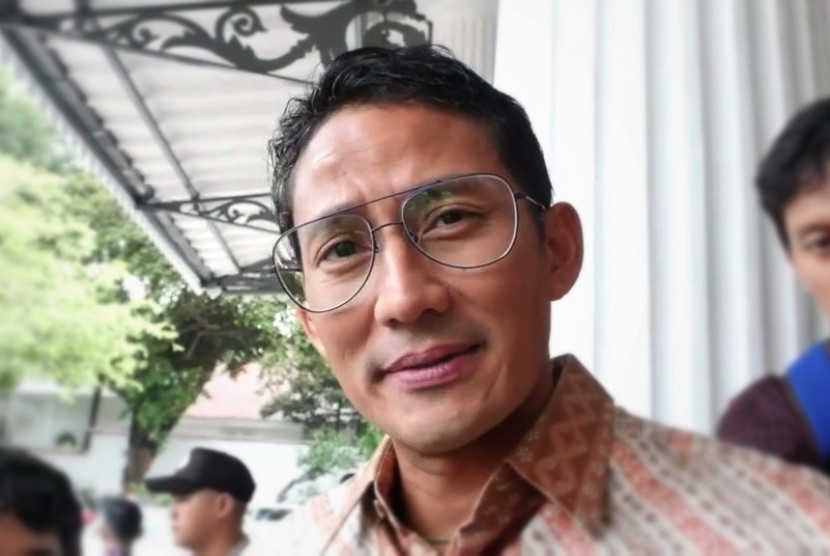 Image result for sandiaga diwawancar