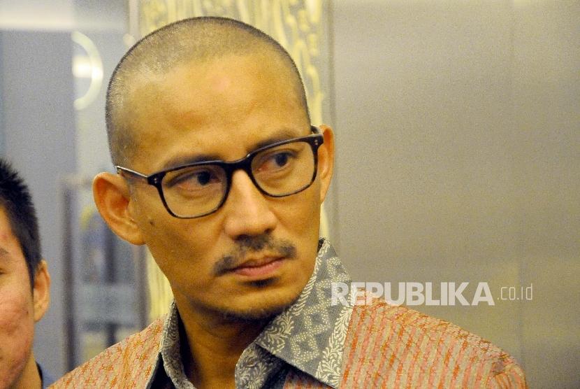 Wakil Gubernur DKI Jakarta terpilih periode 2017-2022 Sandiaga Uno