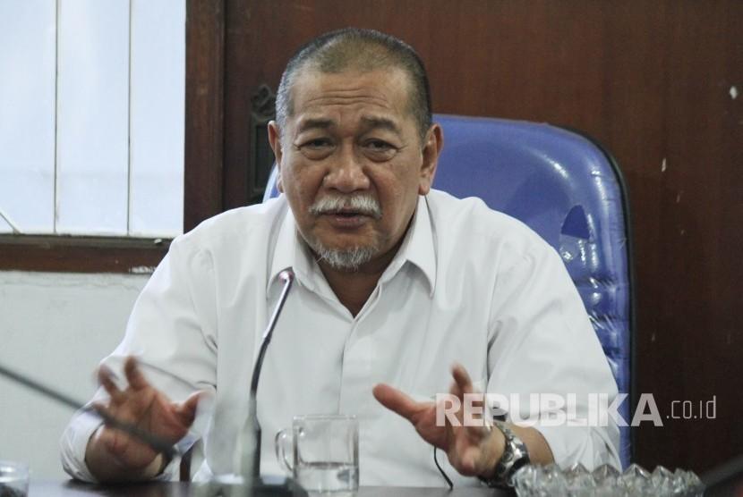 Wakil Gubernur Jawa Barat yang juga kandidat calon Gubernur Jawa Barat Deddy Mizwar