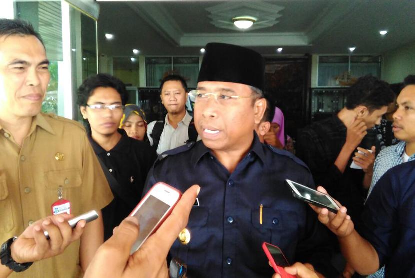 Wakil Gubernur Nusa Tenggara Barat (NTB) Muhammad Amin.