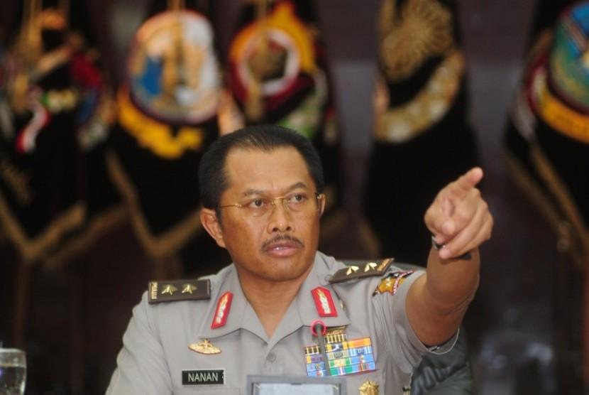 Wakil Kepala Kepolisian RI Komjen Nanan Sukarna