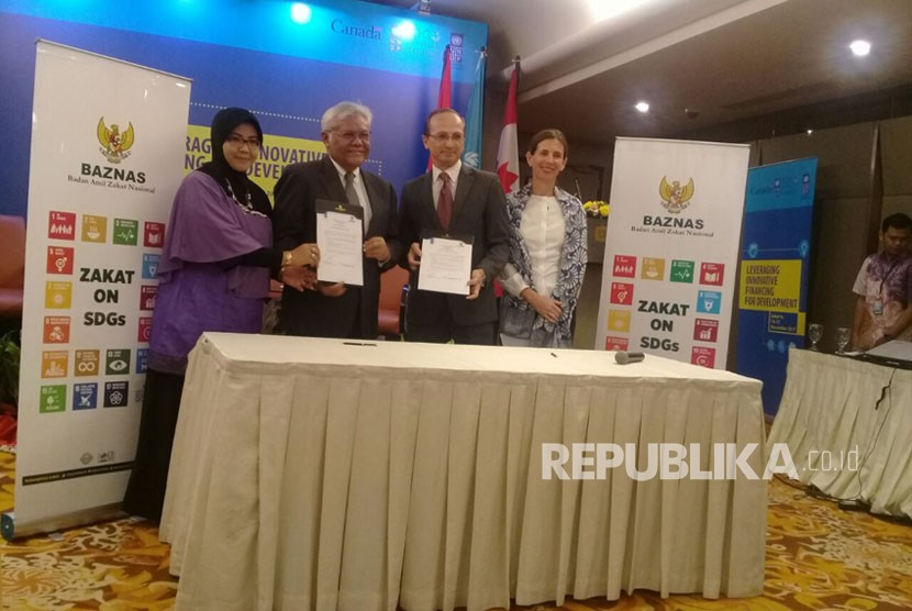 Jadi Mitra UNDP, BAZNAS Kembangkan SDGs