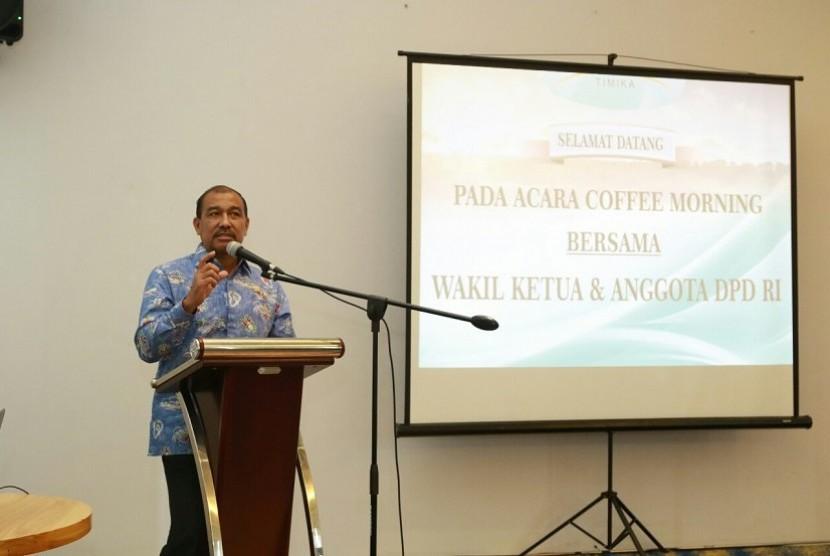 Wakil Ketua dan Anggota Dewan Perwakilan Daerah Republik Indonesia Nono Sampono