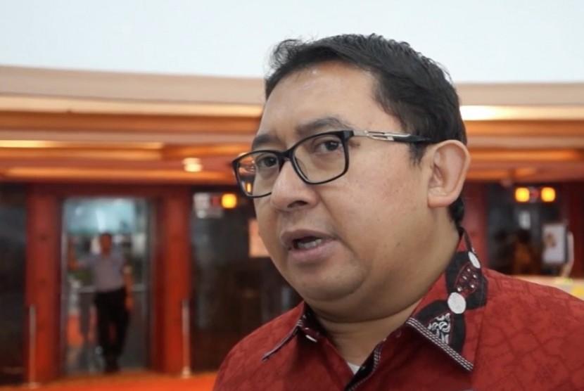 Wakil Ketua Dewan Perwakilan Rakyta Fadli Zon