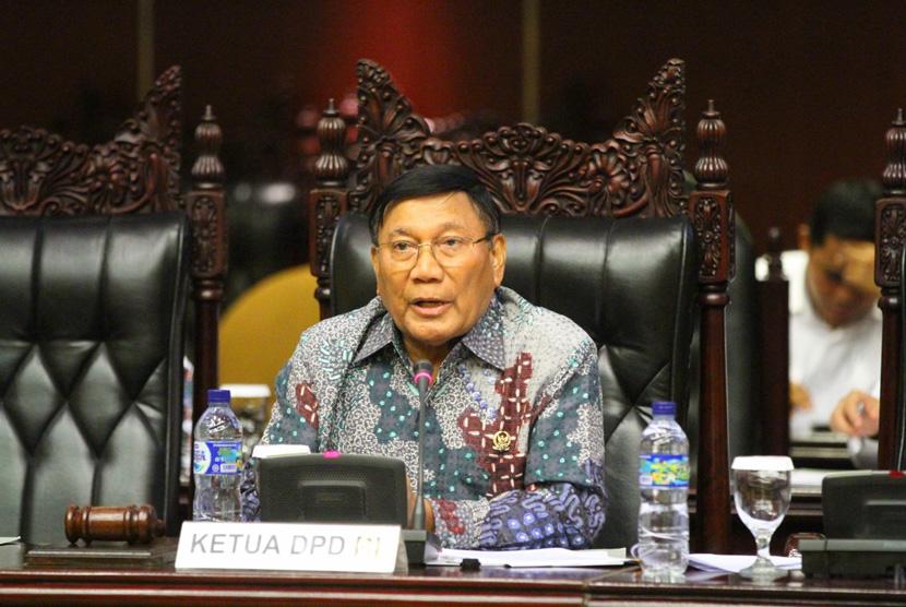 Wakil Ketua DPD RI Farouk Muhammad