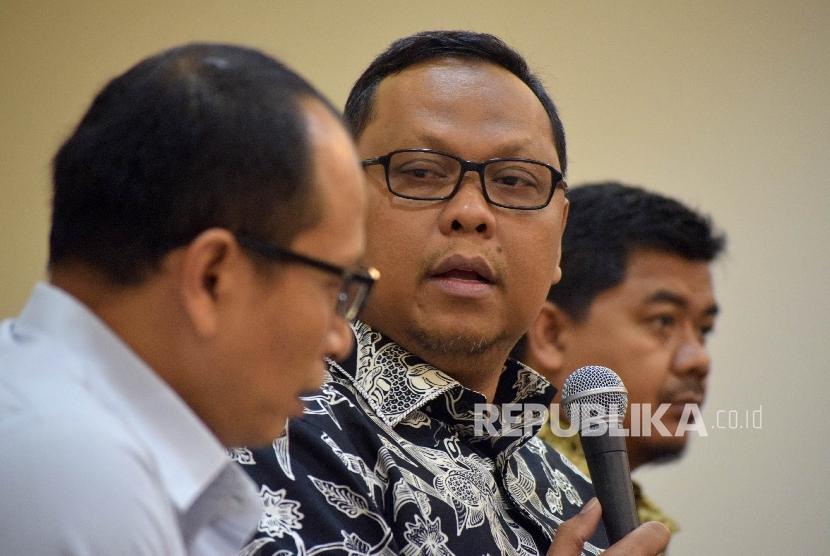 Ketua Panitia Khusus RUU Pemilu Lukman Edi