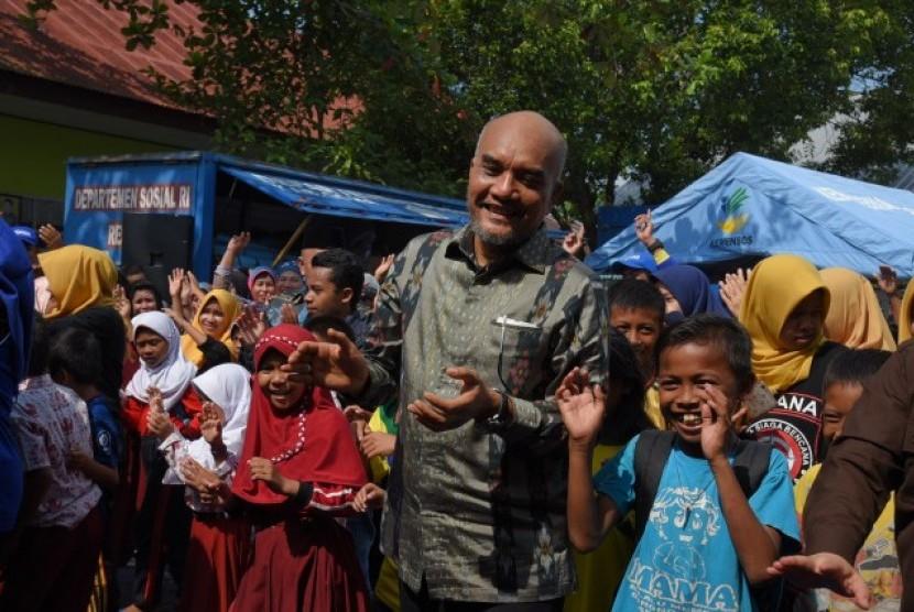 Wakil Ketua Komisi VIII DPR RI Marwan Dasopang memimpin Kunjungan Kerja DPR ke Desa Panakukkang.