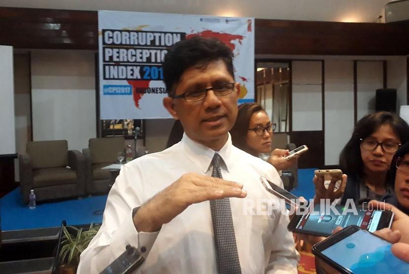 Wakil ketua KPK Laode Muhammad Syarif.