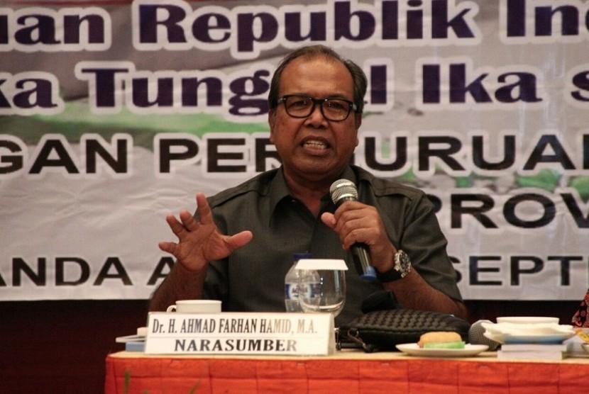 Wakil Ketua Lembaga Pengkajian MPR Ahmad Farhan Hamid