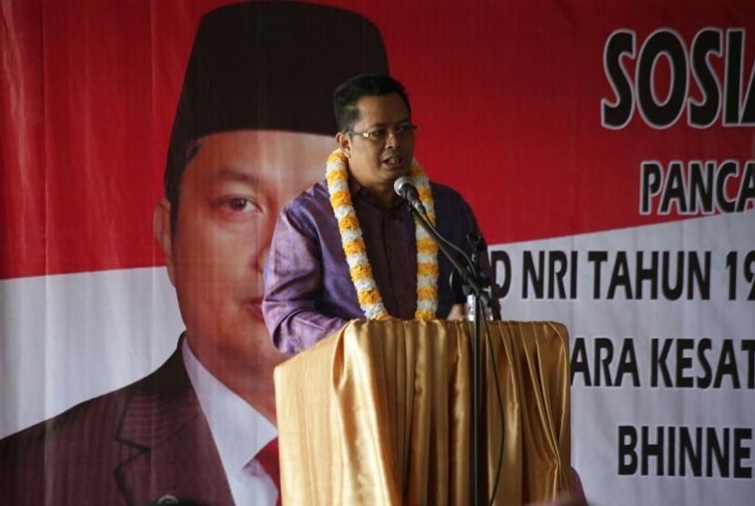 Wakil Ketua MPR Dr H Mahyudin ST, MM