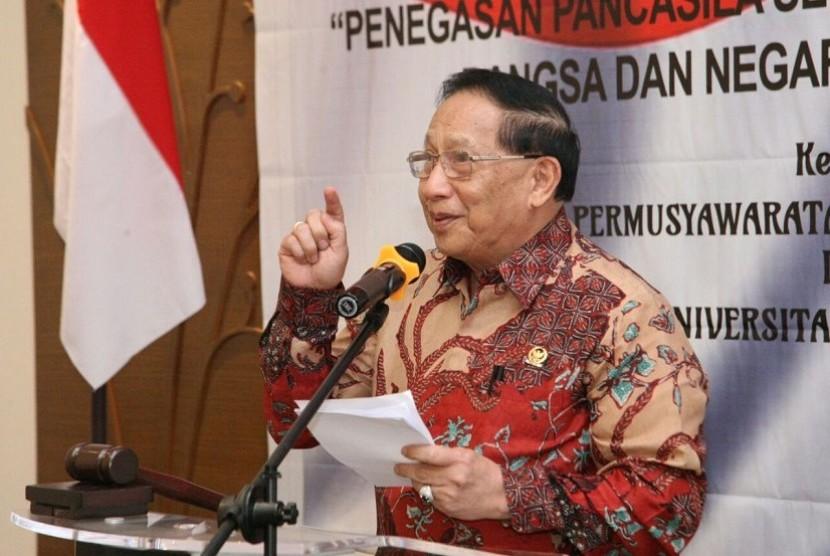 Wakil Ketua MPR EE Mangindaan