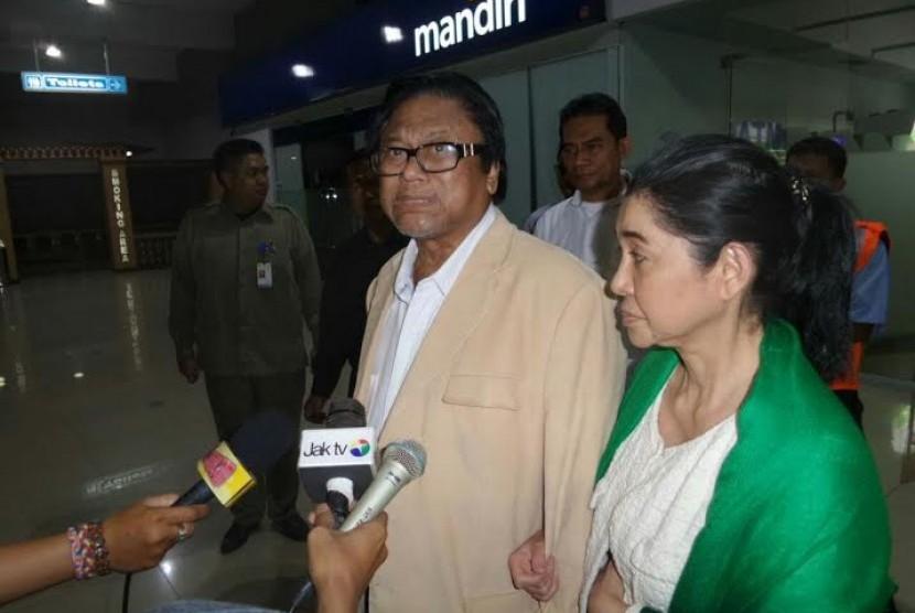 Wakil Ketua MPR tiba di bandara Halim Perdanakusumah, Senin (1/6)