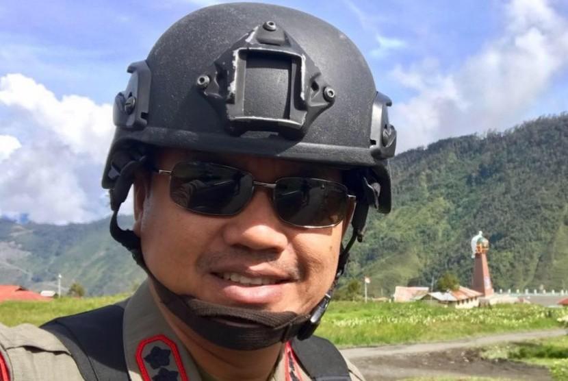 Wakil Komandan Satuan Brimob Papua, AKBP Reza Herasbudi
