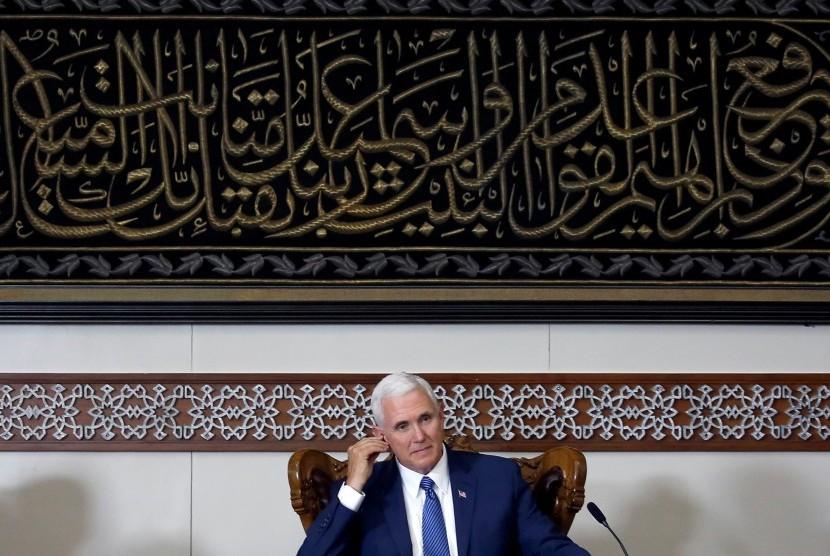 Mahmoud Abbas Tolak Bertemu Wakil Presiden AS