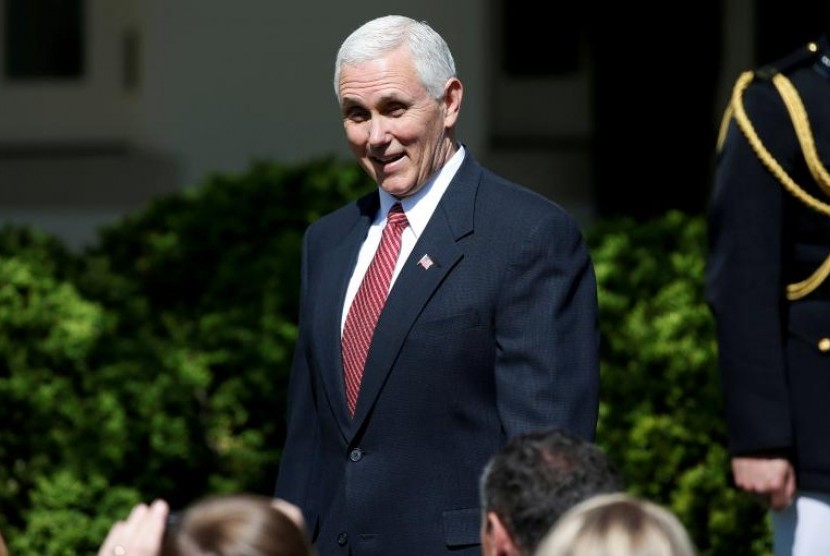 Wakil Presiden Amerika Serikat (AS) Mike Pence.