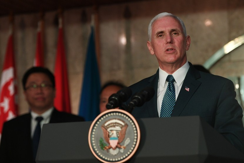 US Vice President Michael Richard Pence