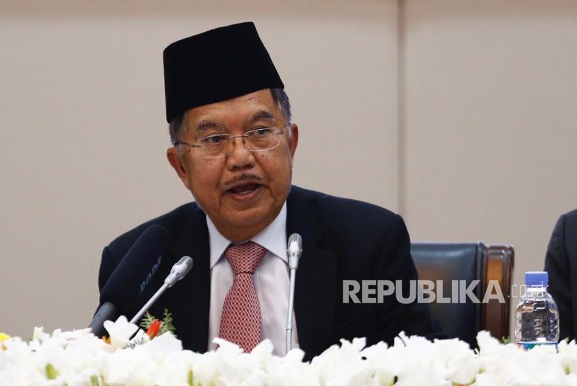 Wakil Presiden Indonesia H. Muhammad Jusuf Kalla.