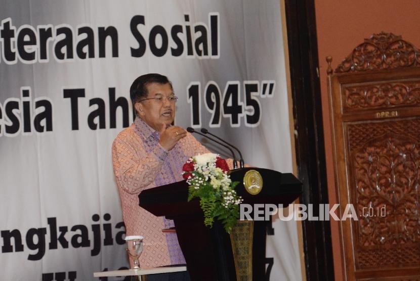 Vice President Jusuf Kalla.