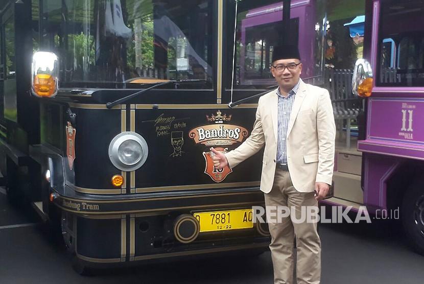 Bandung Tambah 12 Bandros untuk Wisatawan