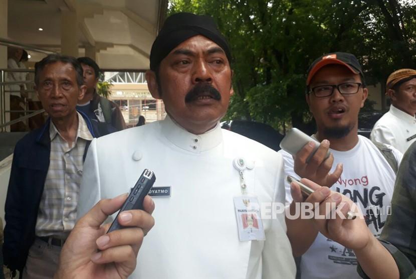 Wali Kota Solo, F.X. Hadi Rudyatmo
