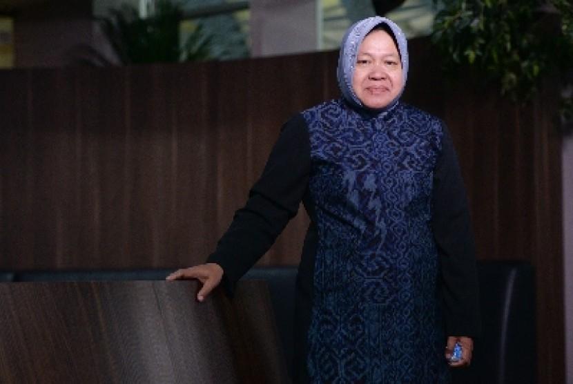 Wali Kota Surabaya Tri Rismaharani.