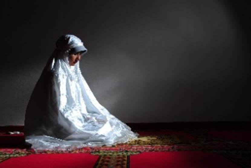 Wanita salehah  (ilustrasi).