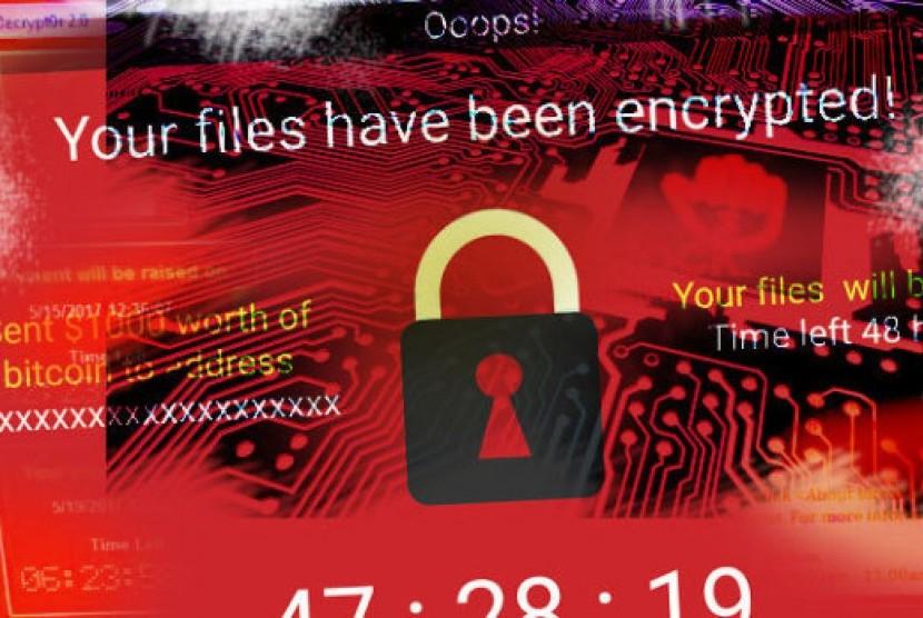 WannaCry (ilustrasi)