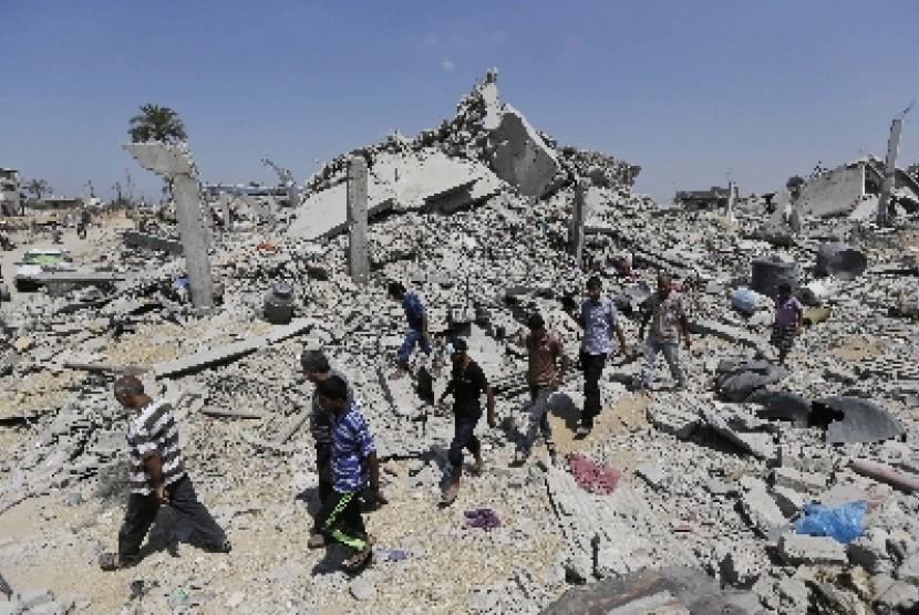 Kondisi di Gaza Genting karena Blokade