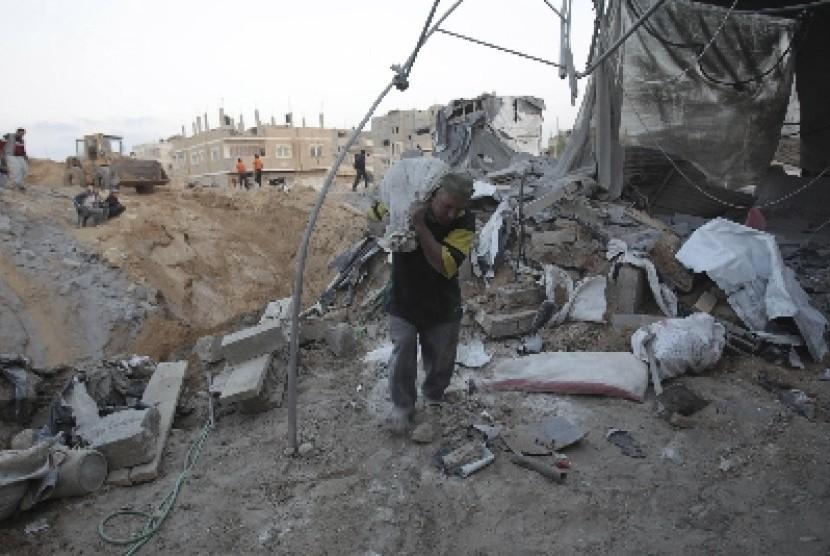 Blokade Israel Rusak Perekonomian Gaza