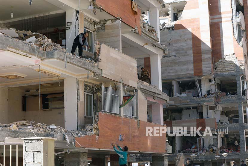 Sebab-Musabab Gempa Iran-Irak