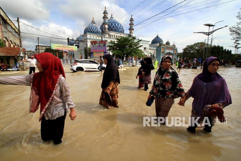 Kemensos: 8.500 Warga Mengungsi Akibat Banjir di Aceh Utara