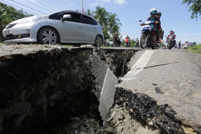 Pakar: Gempa Pidie Fenomena Pergeseran Sesar Aktif