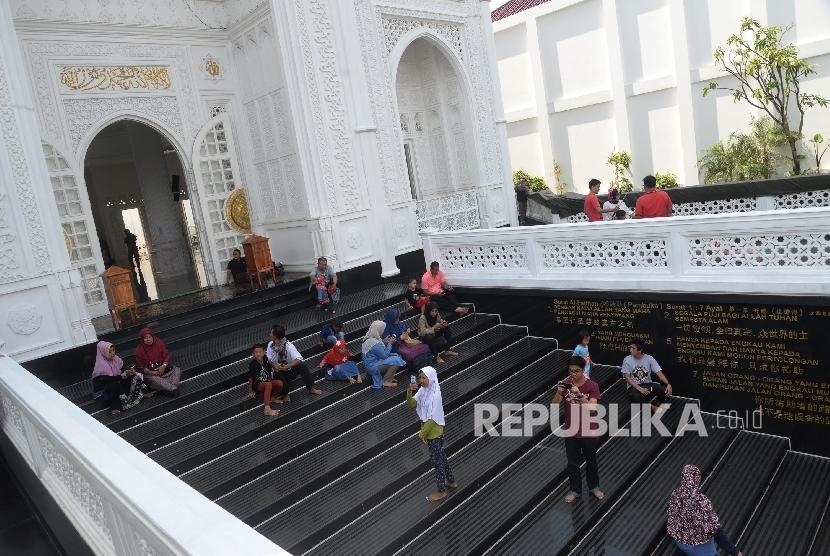 Masjid Ramli Musofa Dirancang Ramah Disabilitas