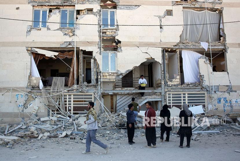 Cerita dan Harapan Warga Irak Usai Gempa Mengguncang