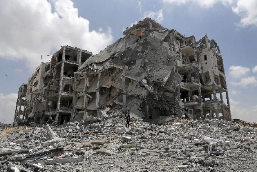 Tamu dari Gaza: Bom Jauh Lebih Dahsyat dari Hiroshima Nagasaki