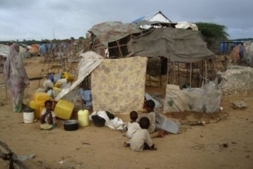 Warga somalia dilanda bencana kelaparan hebat di tengah meningkatnya ketegangan antara pasukan pemerintah dengan milisi.