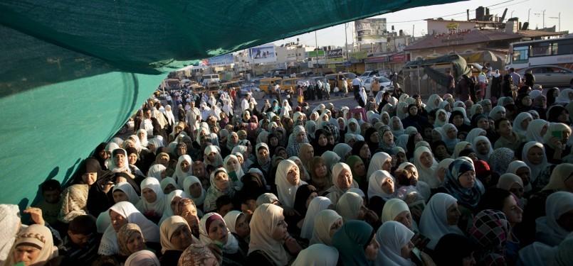 Ratusan Warga Lansia Gaza Kunjungi Al Aqsa