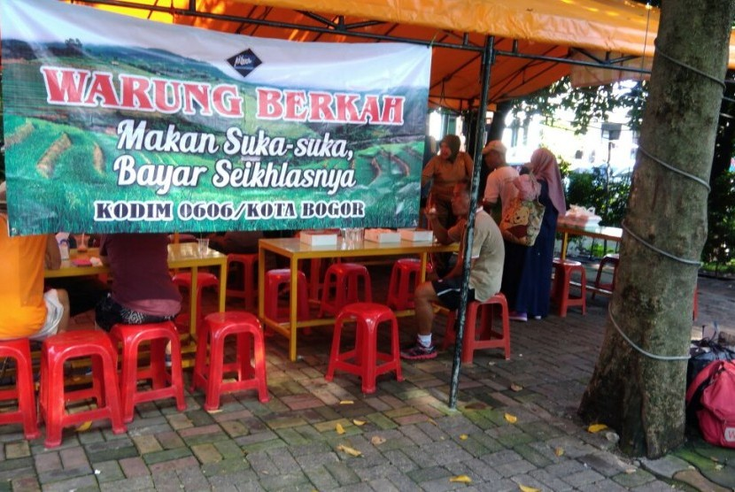 Warung Berkah Kodim Bogor.